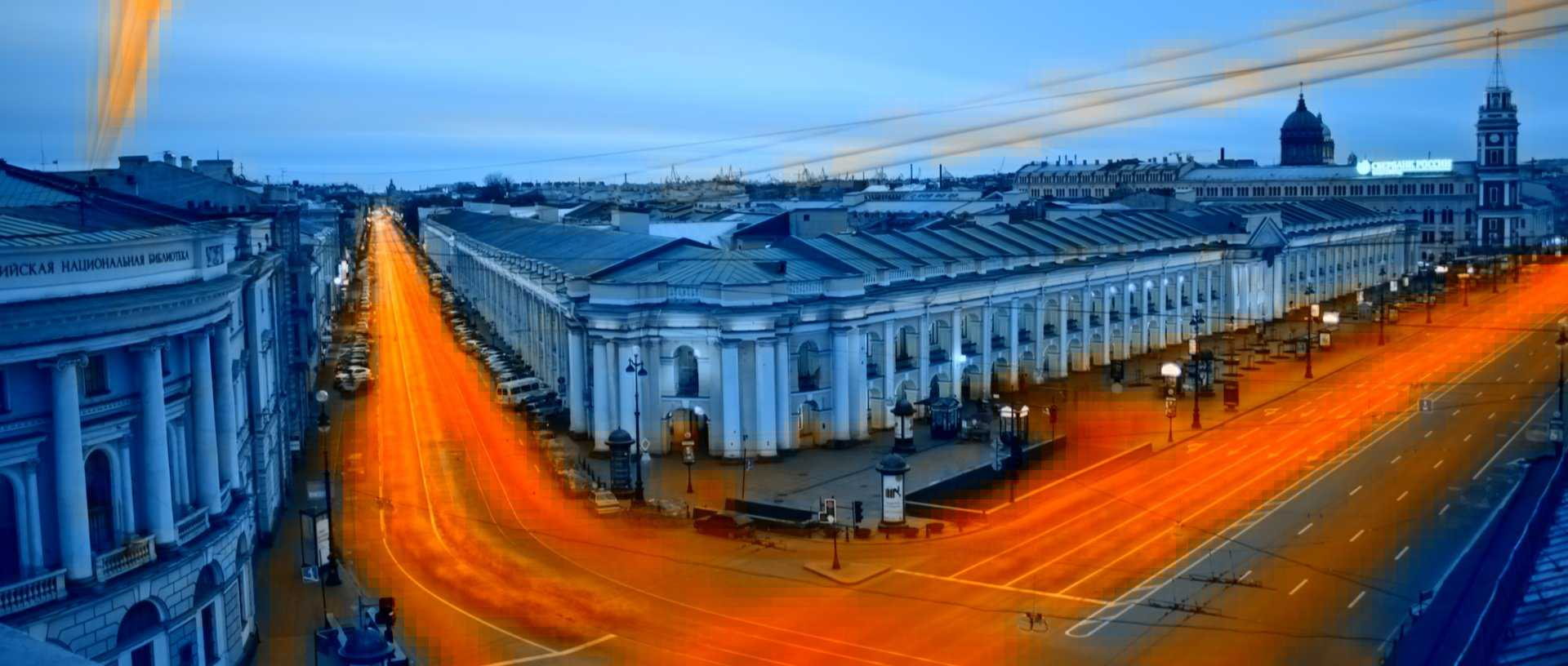 St. Petersburg motion heatmap overlay